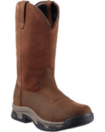 Ariat Men's Terrain H2O Work Boots, Distressed, hi-res