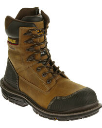 "CAT Men's Fabricate 8"" Tough WP Composite Toe Work Boots, , hi-res"