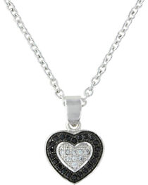 Montana Silversmiths Double Layer of Love Necklace, , hi-res