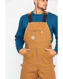 Carhartt Duck Bib Overalls, , hi-res