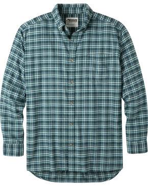 Mountain Khakis Men's Scout Downtown Flannel Shirt , Green, hi-res