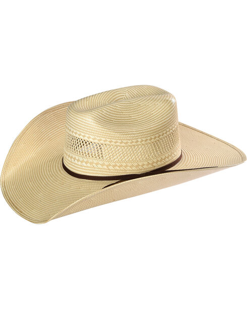 Resistol Men's 20X Solano Straw Hat, Tan, hi-res