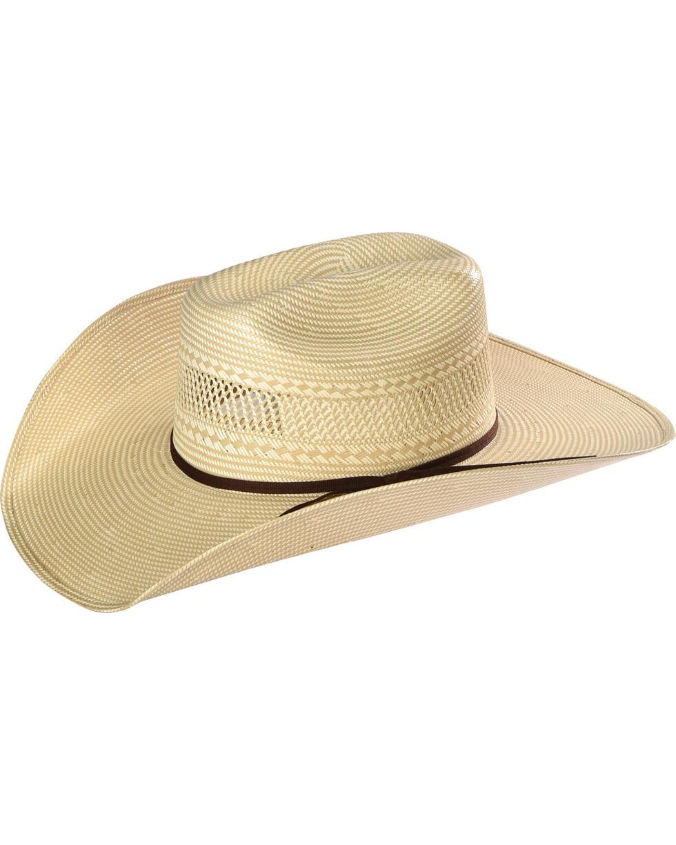 Resistol Men's 20X Solano Straw Hat, Tan, hi-res