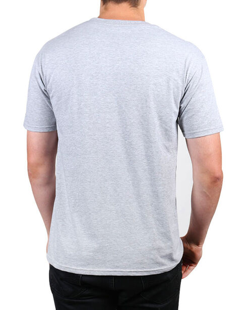 Brothers & Arms Men's Feel The Freedom Graphic Tee, Heather Grey, hi-res