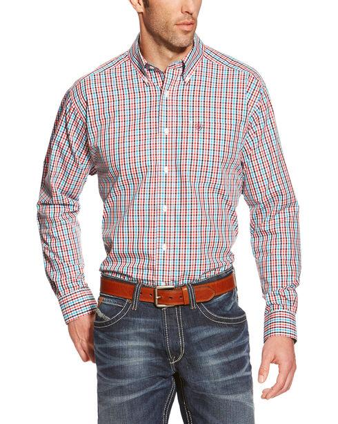 Ariat Men's Plaid Button Down Long Sleeve Shirt, Multi, hi-res