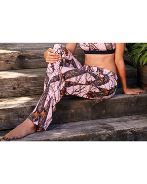 Wilderness Dreams Women's Pink Mossy Oak Break-Up Pants, Camouflage, hi-res
