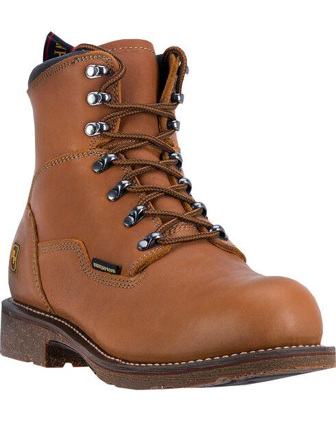 Dan Post Men's Detour Steel Toe Work Boots, Honey, hi-res