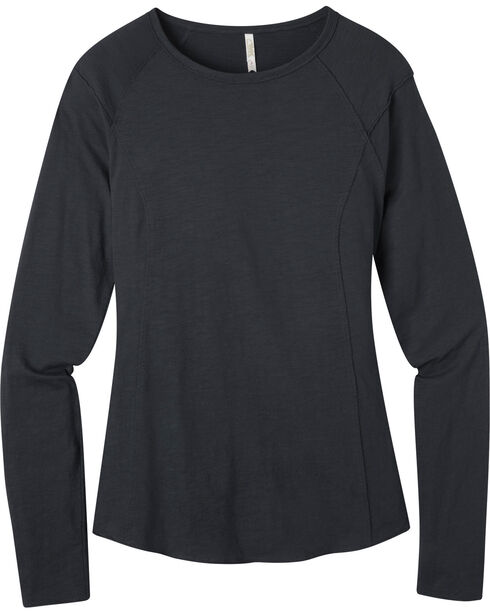 Mountain Khakis Women's Solitude Long Sleeve Shirt, Black, hi-res