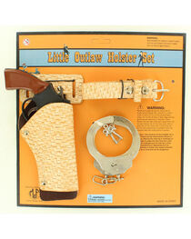 Little Outlaw Toy Gun, Holster and Handcuff Set, , hi-res