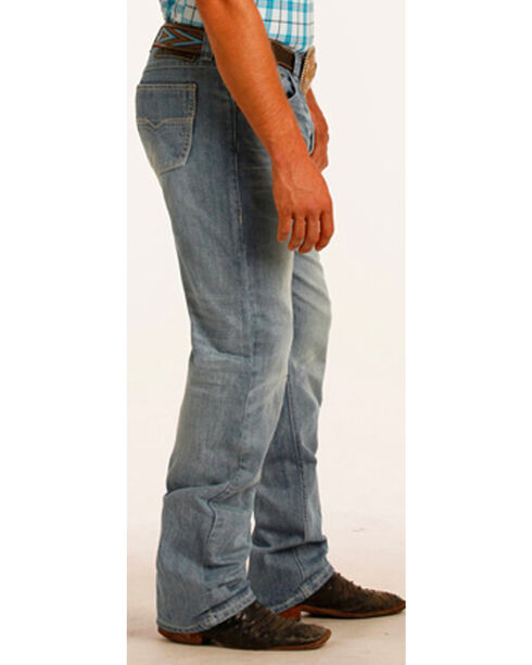 Tuf Cooper by Panhandle Men's Light Wash Performance Jeans, Blue, hi-res