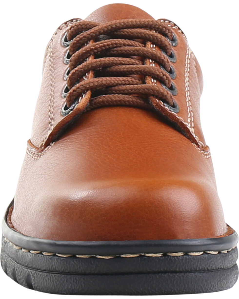 Eastland Women's Tan Plainview Oxfords , Tan, hi-res