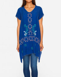 Johnny Was Women's Blue Willamy Blouse , , hi-res
