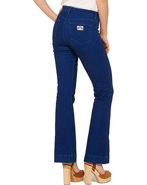 Wrangler Women's 70th Anniversary Flare Jeans, Blue, hi-res