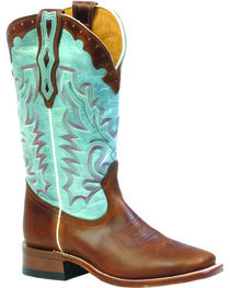 Boulet Damiana Moka Organza Dezy Cowgirl Boots - Square Toe, , hi-res