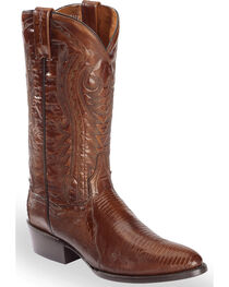Dan Post Men's Teju Lizard Western Boots - Medium Toe, , hi-res