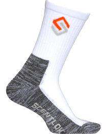 Scentlok Technologies Men's White Everyday Socks, , hi-res
