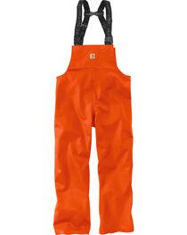 Carhartt Men's Orange Belfast Bib Overalls - Big & Tall, , hi-res