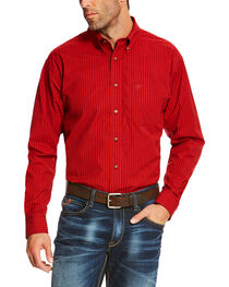 Ariat Men's Ruby Sandberg Plaid Button Up Pro Shirt , , hi-res