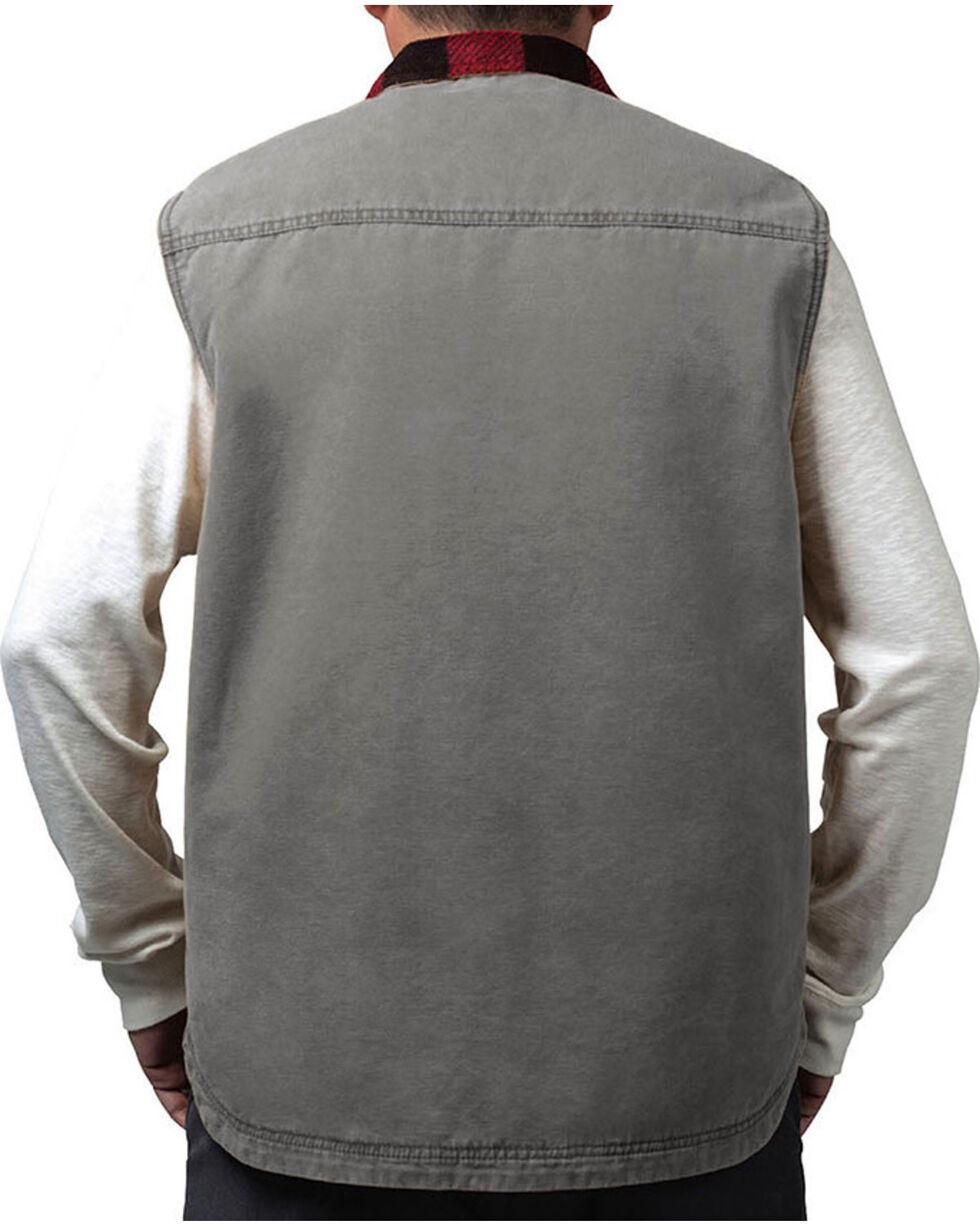 Walls Men's Vintage Fleece Lined Vest, Grey, hi-res