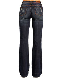 Rock & Roll Cowgirl Women's Low Rise Trouser Jeans, , hi-res