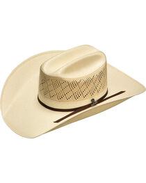 Ariat Ivory 20X Shantung Americana Hat, , hi-res