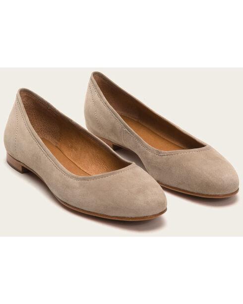 Frye Women's Ash Gloria Ballet Shoes - Round Toe , Ash, hi-res