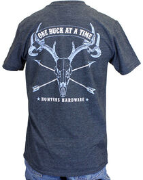 Cowboy Hardware Men's One Buck At A Time Tee, , hi-res