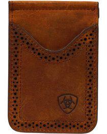 Ariat Leather Money Clip, , hi-res