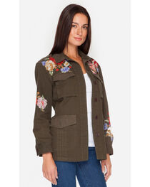 Johnny Was Women's Olive Cecily Military Coat, , hi-res