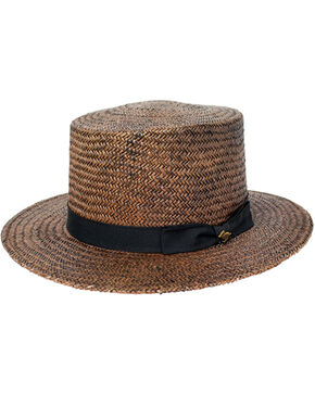Peter Grimm Women's Brown Rina Straw Hat , Brown, hi-res