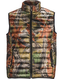 Trail Crest Men's Ultra Thurmic Silk Padded Camo Quilted Vest, , hi-res