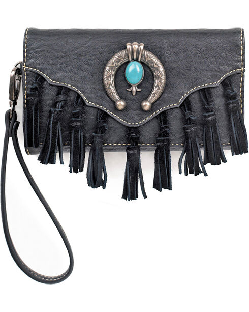 Blazin Roxx Shelby Clutch, Black, hi-res