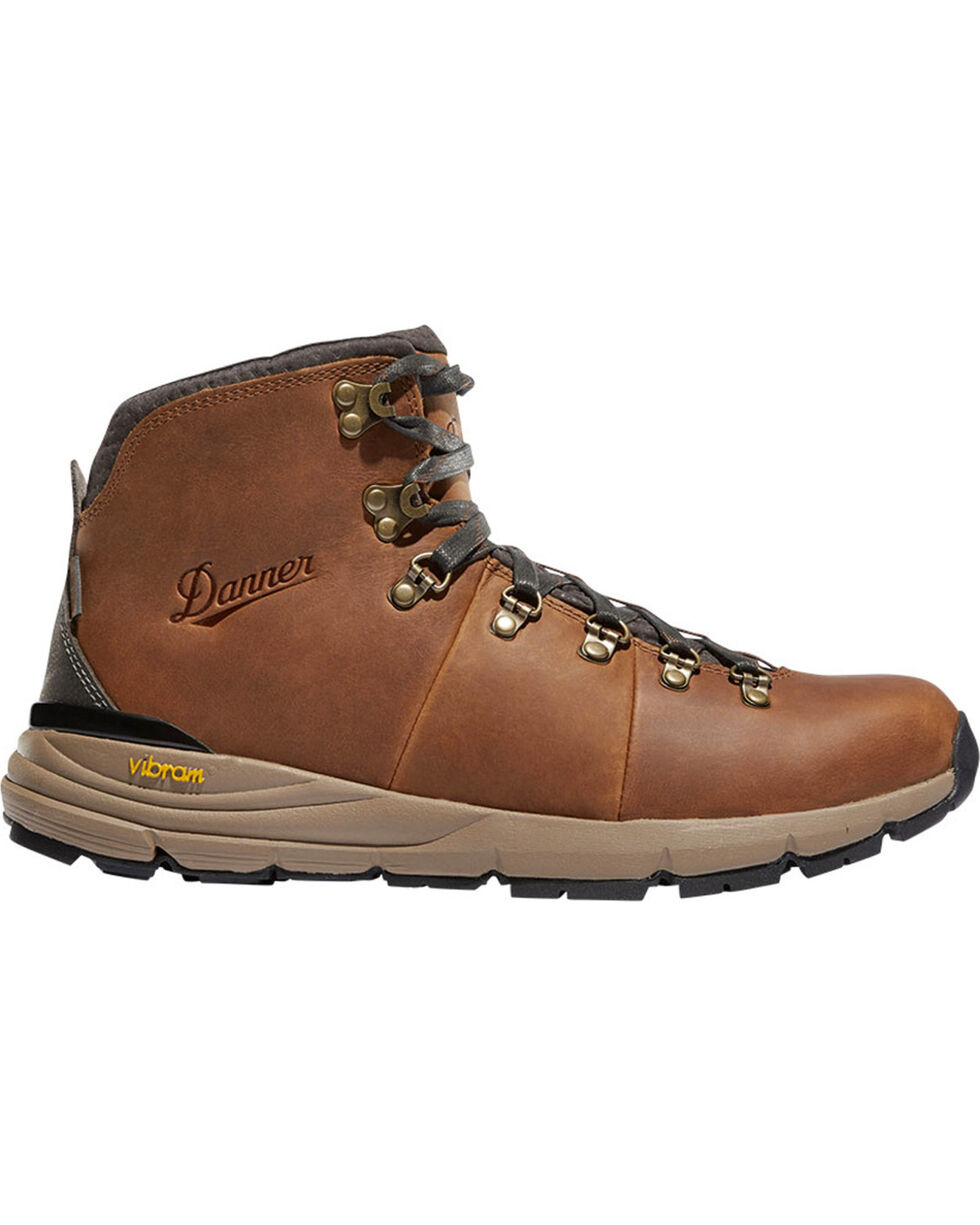 Danner Men's Brown Mountain 600 Hiking Boots - Round Toe, Brown, hi-res
