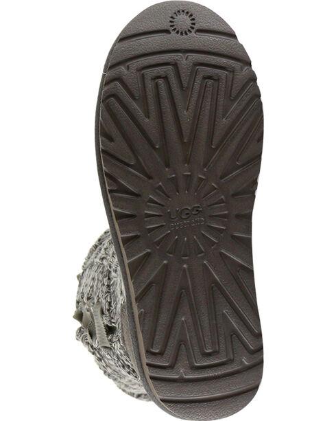 UGG® Women's Mahalya Knit Casual Boots, Heather Grey, hi-res