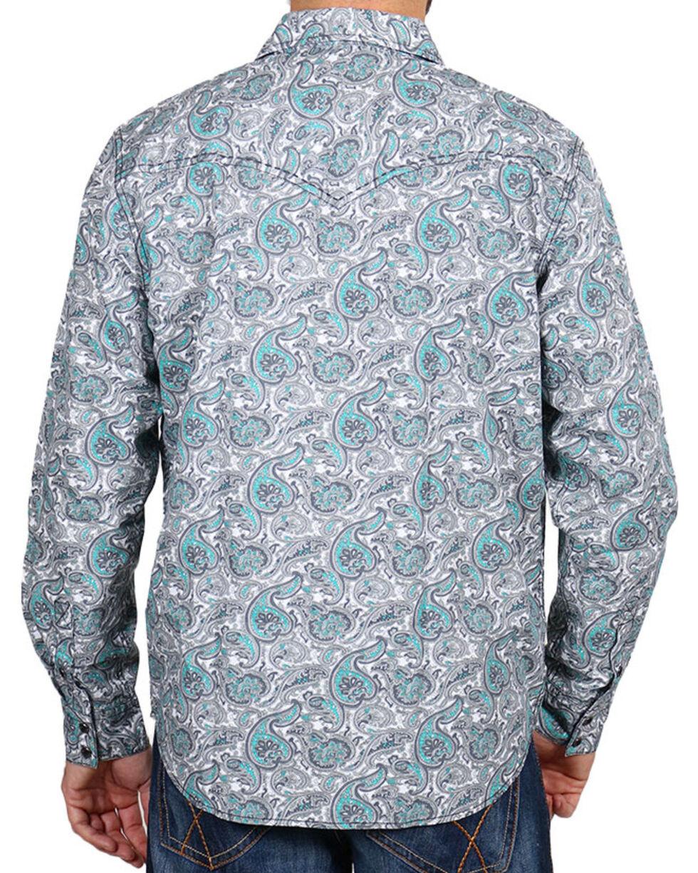 Cody James® Men's Rodeo Paisley Long Sleeve Shirt, , hi-res