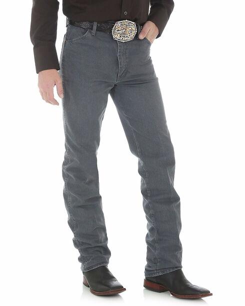 Wrangler Men's Slim Fit 936 Cowboy Cut Jeans, Gunpowder, hi-res