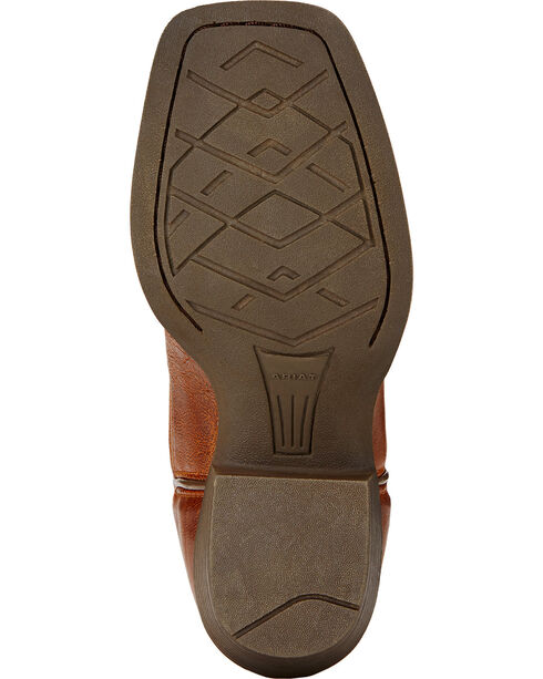 Ariat Childrens' Crossfire Western Boots, Wood, hi-res