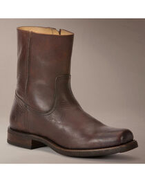 Frye Heath Inside Zip Boots, Dark Brown, hi-res