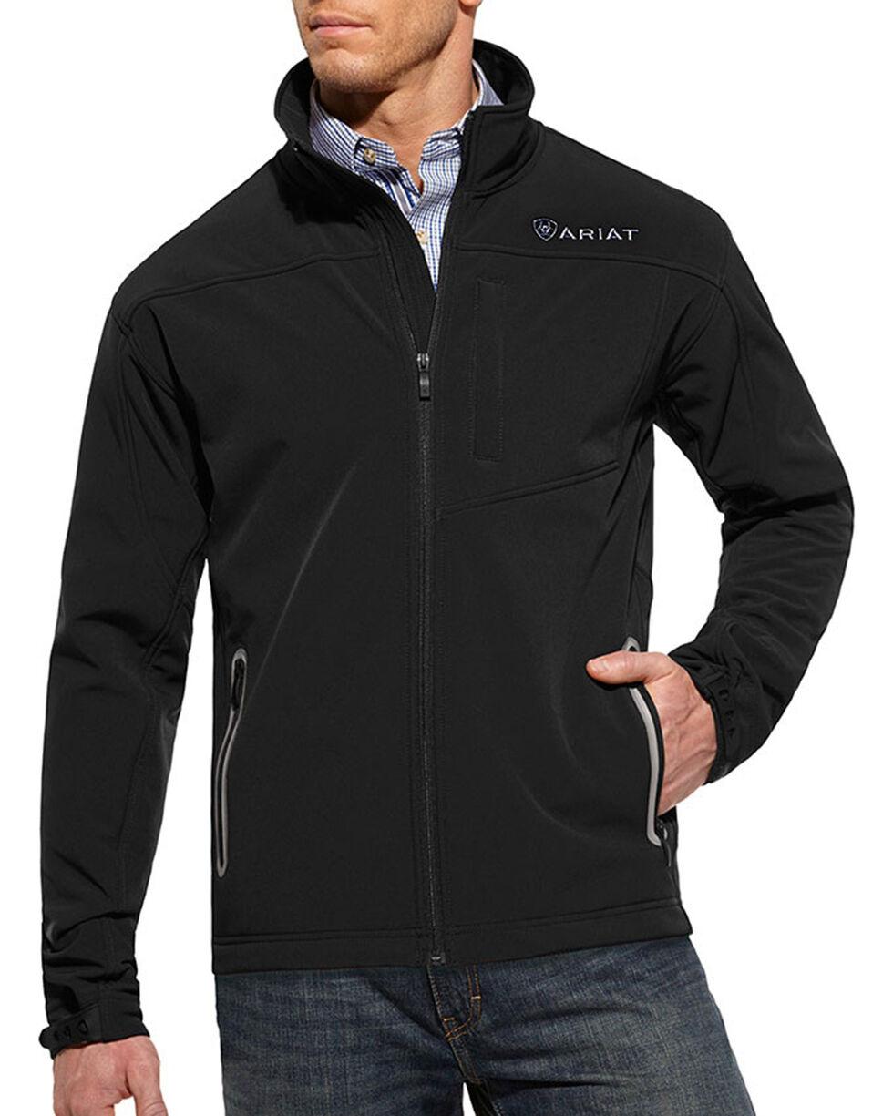 Ariat Men's Black Vernon Softshell Jacket , , hi-res