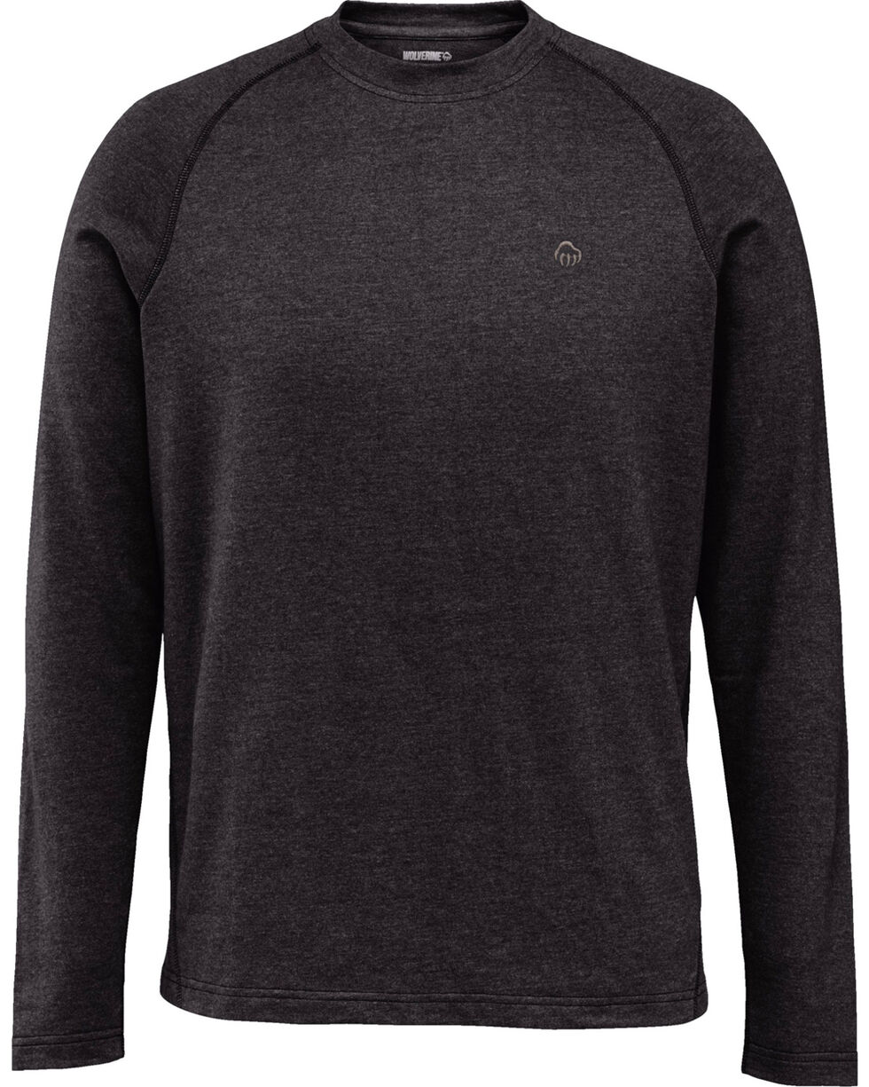 Wolverine Men's Black Ryder Long Sleeve Tee , Black, hi-res