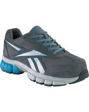 Reebok Women's Ketia Athletic Oxford Shoes - Composition Toe, Grey, hi-res