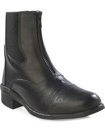 Old West Women's Chelsea Zipper Short Riding Boots, , hi-res