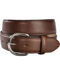 Silver Creek Men's Classics Oiled Brown Western Belt, , hi-res