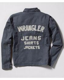 Wrangler Men's Vintage Inspired Canvas Jacket, , hi-res