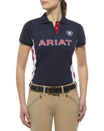 Ariat Women's Team Logo Polo, , hi-res