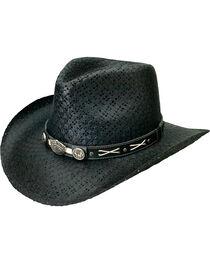 Jack Daniel's Soft Toyo Straw Cowboy Hat, , hi-res