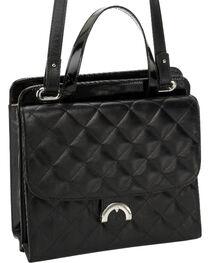 Designer Concealed Carry Quilted Newport Crossbody Bag, , hi-res