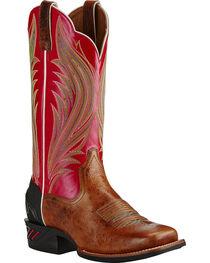 Ariat Calypso Coral Catalyst Prime Cowgirl Boots - Square Toe, , hi-res