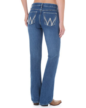 Wrangler Women's Q-Baby Cool Vantage Ultimate Riding Jeans, Denim, hi-res
