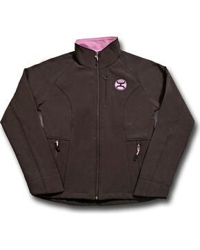 Hooey Women's Brown Fleece Lined Jacket , Brown, hi-res